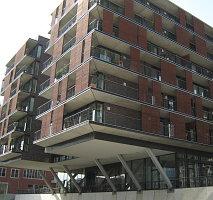 Neubau in der Hamburger Hafencity
